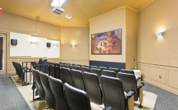 Storey Lake Resort Movie Theatre